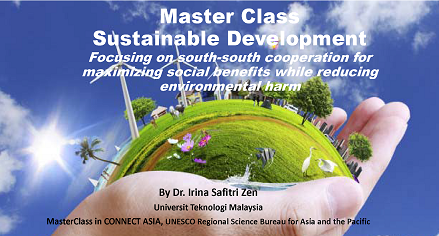 MasterClass Sustainable Development