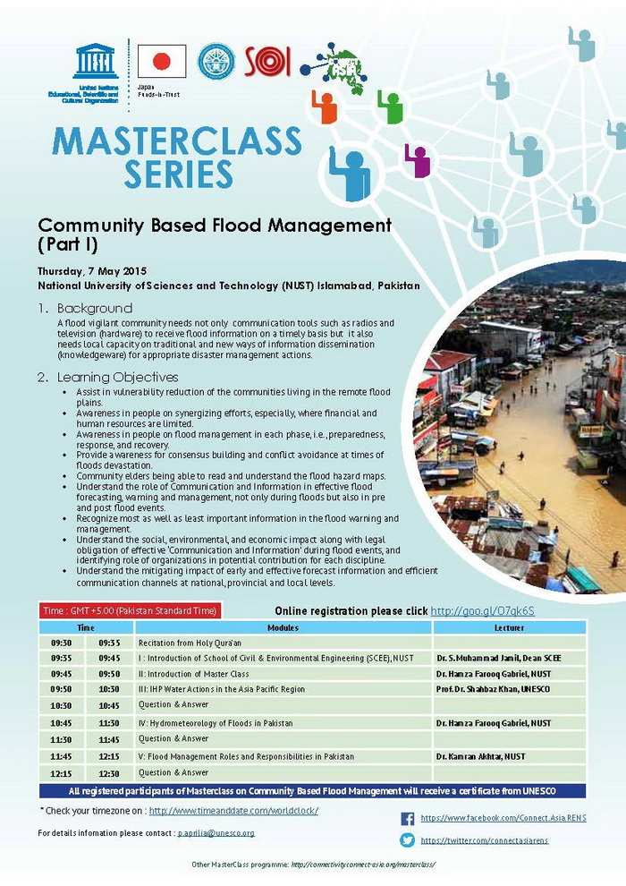 eFlyer Community Based Flood Management Banner
